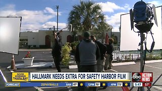 Extras needed for Hallmark movie being filmed in Pinellas County
