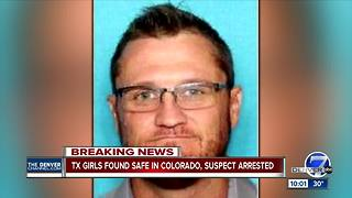 Abducted Texas girls found safe, suspect caught in Colorado: Round Rock Police Chief - Video