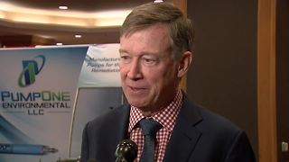 Raw interview: Gov. Hickenlooper addresses sexual harassment allegation against Denver Mayor Michael Hancock - Video