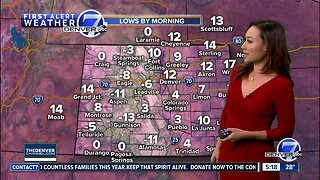A cold start to the week before warmer, drier days