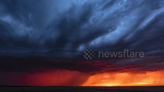 Photographer turns six years of documenting storms into one timelapse - Video