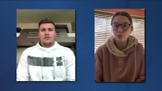 Local students react to first presidential debate