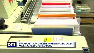 3 U.S. postal workers charged with stealing mail in the past week - Video