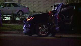 Man grateful to be alive after 4 teens in stolen vehicle plowed into him - Video