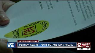 'Keep Jenks Safe' group presents council with petition signatures - Video