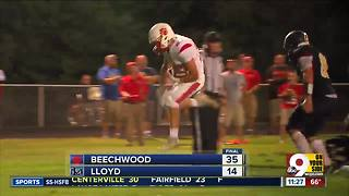 Football highlights: Beechwood 35, Lloyd 14 - Video