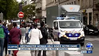Colorado tech exec among those held inside Notre Dame - Video