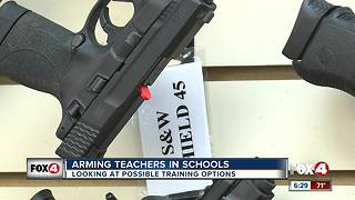 Gun options for arming teachers - Video