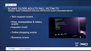 Report breaks down top scams older adults fall victim to