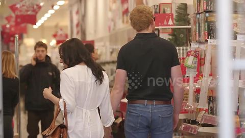 'Harry and Meghan' spotted Christmas shopping