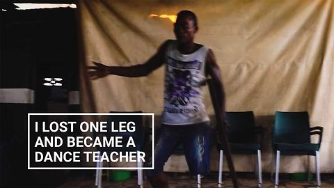 This Young Man Lost One Leg And Became A Dance Teacher