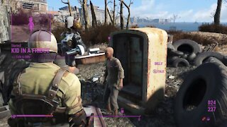 Fallout 4, meeting Billy