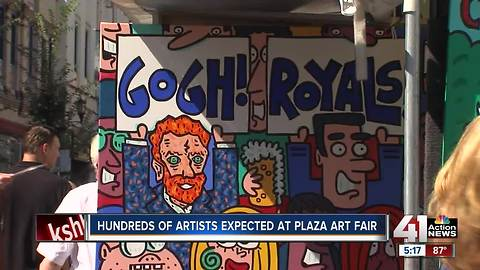 Hundreds of artists expected at Plaza Art Fair