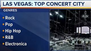 Ranking finds Las Vegas top concert city in country
