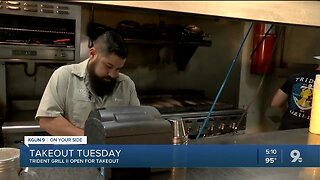 Trident Grill open for takeout