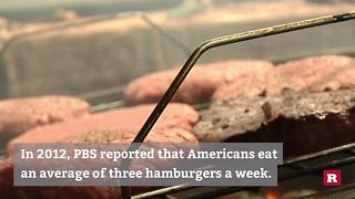 Americans Love Cheeseburgers: Here's How We Know - Video