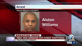 Suburban Lake Worth man charged in human trafficking case - Video