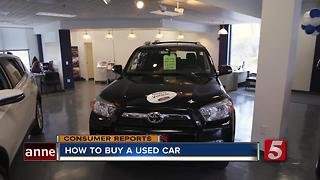 Learn How To Buy A Used Car - Video
