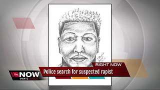 Police search for suspected rapist in Wayne