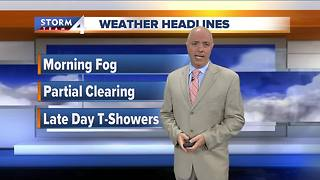 Mark McGinnis' Wednesday morning Storm Team 4cast - Video