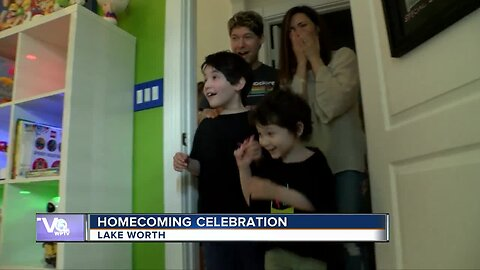 Palm Beach County boy who beat cancer receives Toy Story-themed bedroom