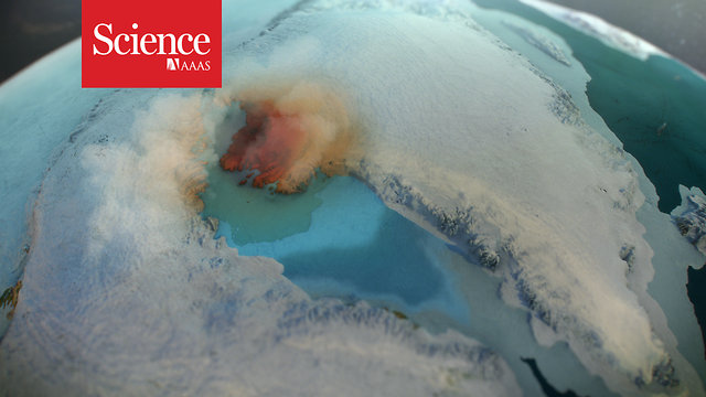 Massive crater under Greenland's ice points to climate-altering impact in  the time of humans