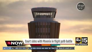 Court sides with Phoenix in Sky Harbor flight path battle - Video