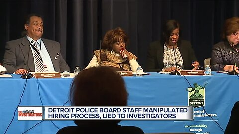 Detroit police board staff manipulated hiring process, lied to investigators