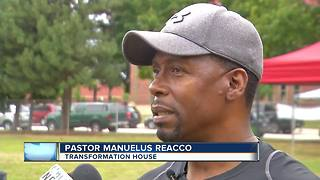 Transformation House helps feed the homeless