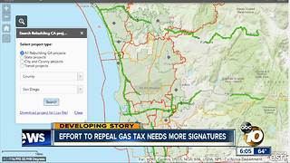 Deadline approaching for CA Gas Tax Repeal - Video