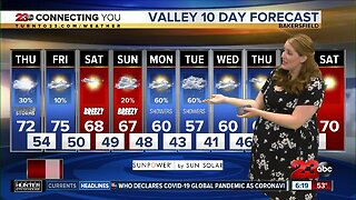 23ABC Weather for Thursday, March 12, 2020
