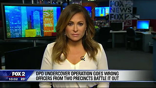 Undercover Detroit Police Officers Mistakenly Fight Other Undercover Officers In Attempt at Drug Bust - Video