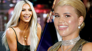 Kim Kardashian Hanging Out with Scott Disick's GF Sofia Richie?? - Video