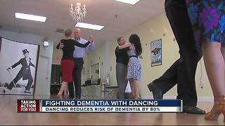 Bay area seniors dance to reduce their risk of dementia - Video