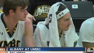 UMBC men's basketball team loses to Albany on Monday 77-50 - Video