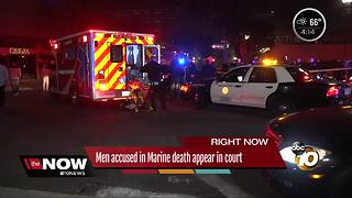Two men are accused of a Marine's death