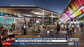 Convention Center expansion beginning - Video