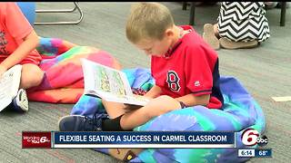 Flexible seating a success in Carmel classroom - Video
