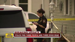 Tarpon Springs police find 3 people, 3 dogs dead inside home