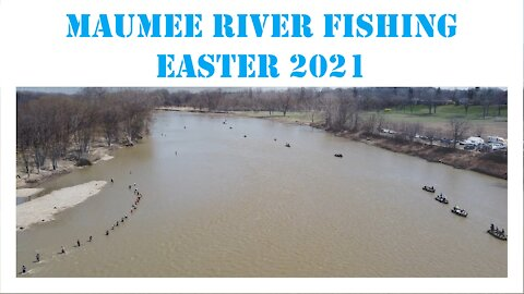 Maumee River Walleye on Easter