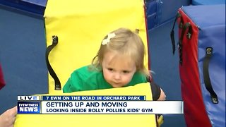 Orchard Park On the Road at a children's gym