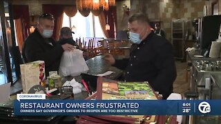 Metro Detroit restaurants frustrated with new orders