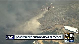 Goodwin Fire sends community of Pine Flats into evacuation mode - Video