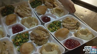 1,500 meals given at annual Salvation Army Thanksgiving dinner - Video