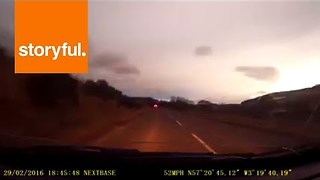 Giant 'Fireball' Spotted Over Scotland - Video