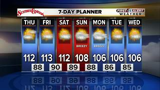13 First Alert Weather for July 6 2017 - Video