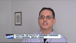 UB faculty member arrested, charged with federal drug crime