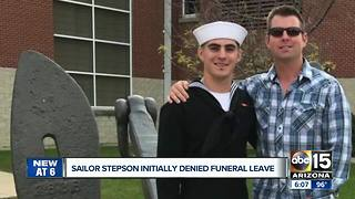 Stepson of deceased Phoenix firefighter coming home
