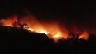 Wildfires Burn Overnight in Napa County, Forcing Evacuations - Video