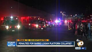 Questions over penalties in Barrio Logan platform collapse case - Video